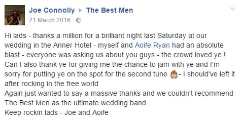 Joe and Aoife BM Comment Future Post
