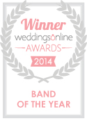 Our seal of approval! The Best Men enjoy two victories in the one night, Band and Musicians of the Year.