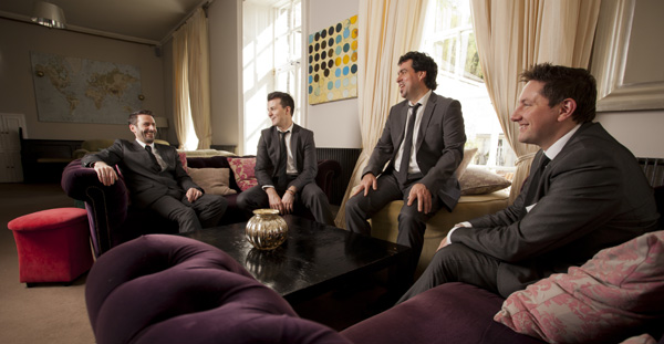 The Best Men are the most in-demand wedding band in Ireland
