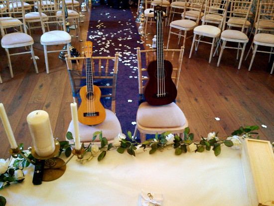 The Kooky Ukes at Ballymagarvey Ceremony